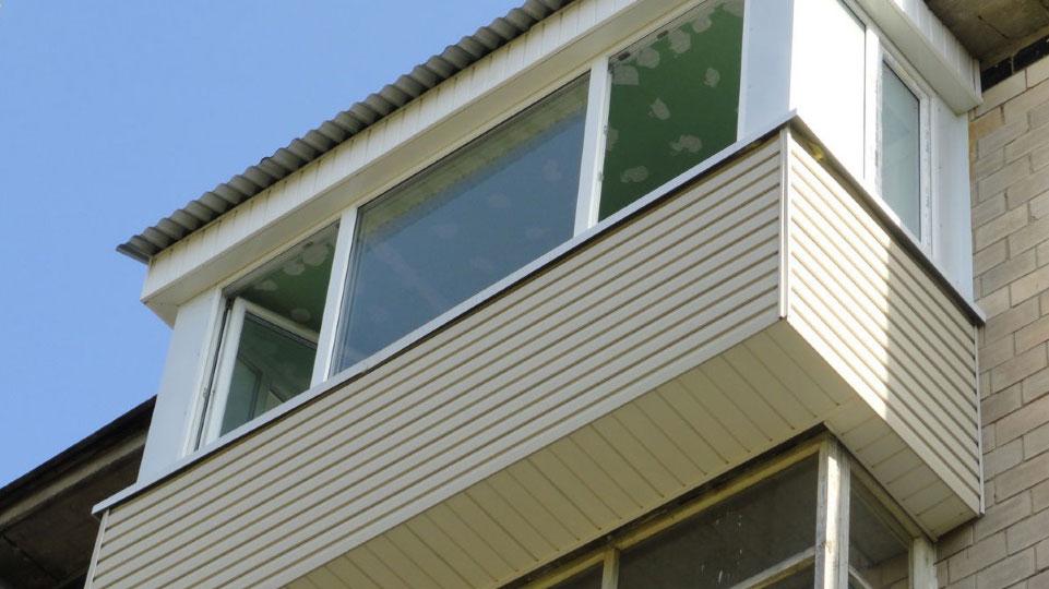 балкон с выносом фото поэтапно
